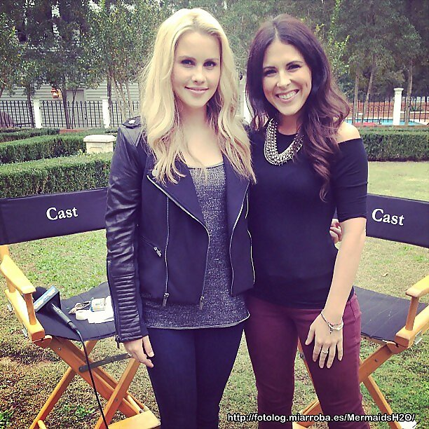Claire Holt entrevista en el set de The Originals