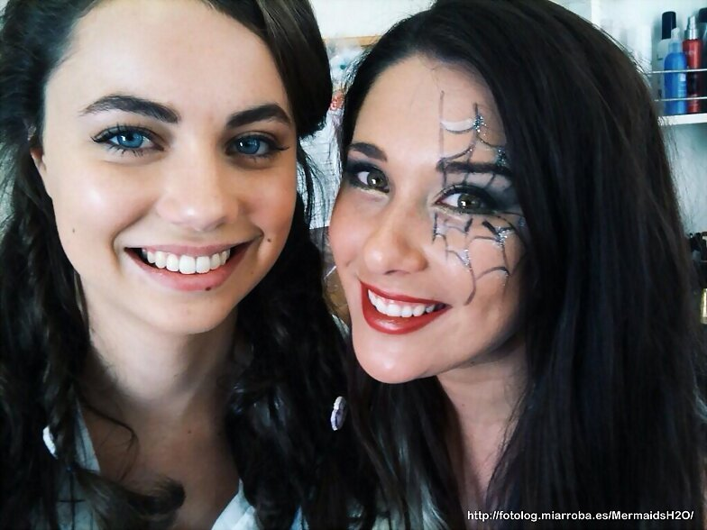Behind the scenes Mako Mermaids 1x18 de halloween