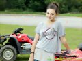 Phoebe Tonkin -Honda Australia Road Craft Training
