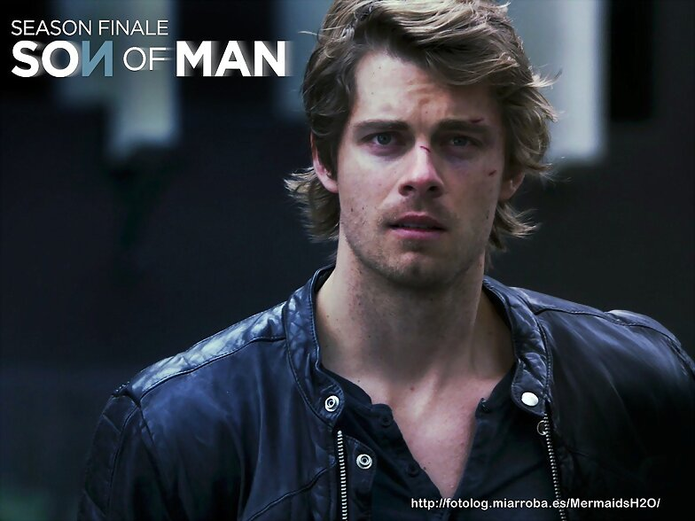 Luke Mitchell en la serie The Tomorrow People