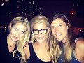 Claire Holt con Annabel y Christina Gualazzi