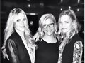 Claire Holt, Annabel Gualazzi y Madeline Holt