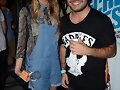 Indiana Evans y fan- Flickerfest Launch Party 2013