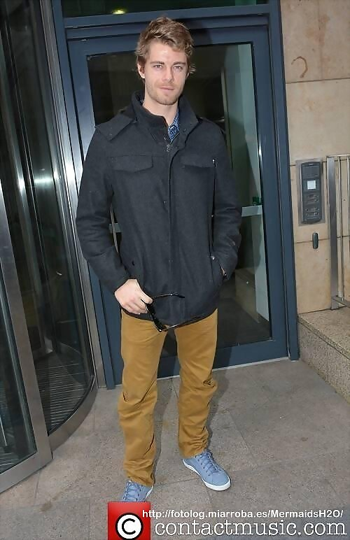 Luke Mitchell - Celebrities Today FM Studios 2013