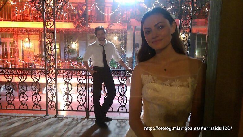 The Originals 2x14 Behind the scenes Phoebe Tonkin
