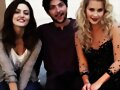 BTS photoshoot Phoebe Tonkin y Claire Holt en TO
