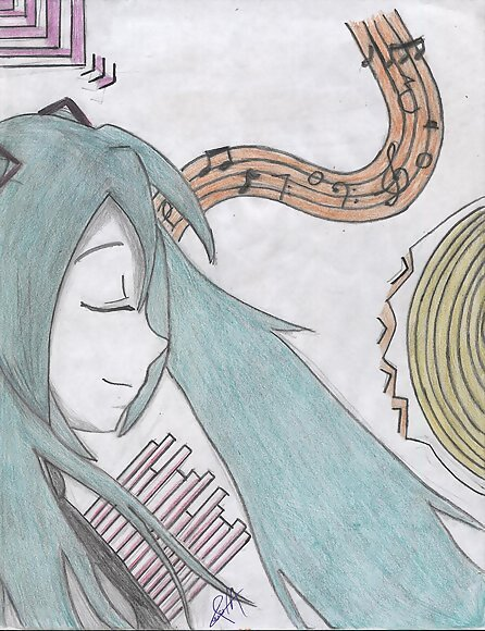 Hatsune Miku Fan Art