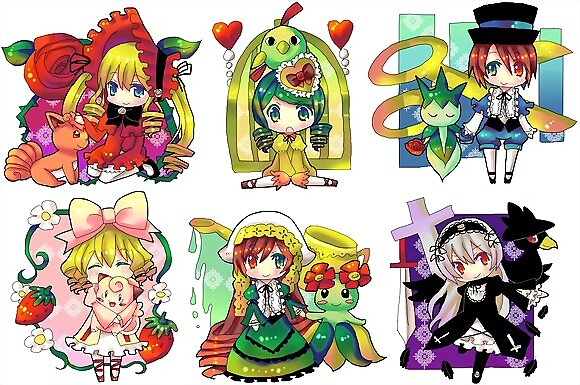 rozen maiden y pokemon