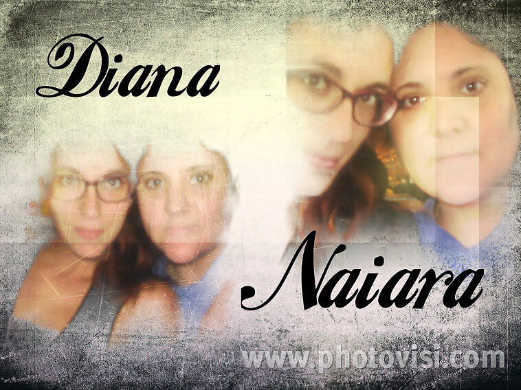 Collage Diana&Yo