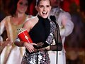 Emma en los MTV AWARDS.
